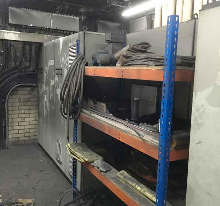 brandschade machinekamer