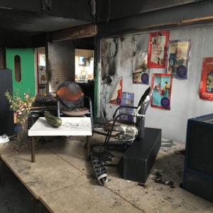 brandschade school lelystad