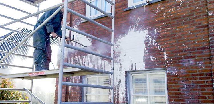 vandalisme en ongevallen verf schoonmaken