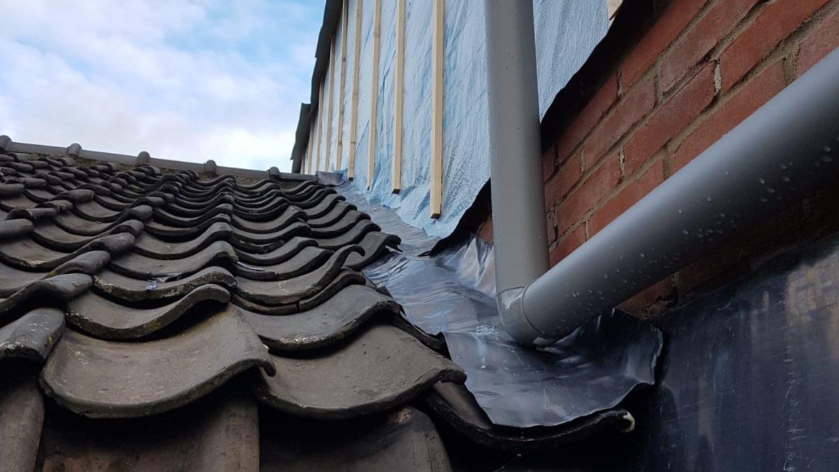 lekkage op het dak